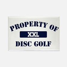 Property of Disc Golf Rectangle Magnet
