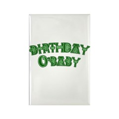 Birthday O'Baby St. Patricks Rectangle Magnet