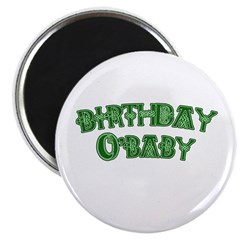 Birthday O'Baby St. Patricks Magnet