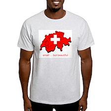 Small but Beautiful Ash Grey T-Shirt