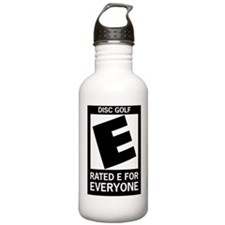 Rated E for Everyone Disc Gol Water Bottle