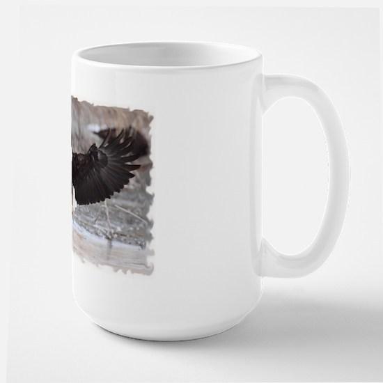 Eagles Landing Large Mug
