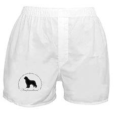 Devoted Black Newf Boxer Shorts