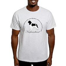 Devoted Landseer Newf T-Shirt