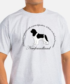 Devoted Landseer Newf T-Shirt