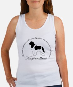 Devoted Landseer Newf Women's Tank Top