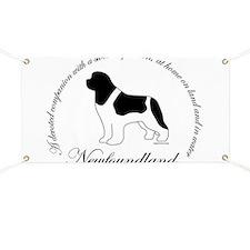 Devoted Landseer Newf Banner