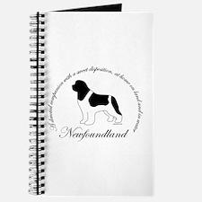 Devoted Landseer Newf Journal