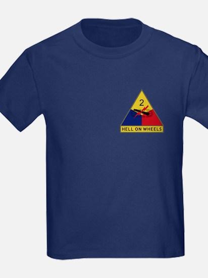 Hell On Wheels Kid's T-Shirt (Dark)