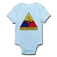 Hell On Wheels Infant Bodysuit