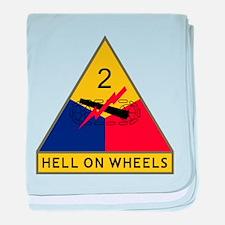Hell On Wheels Baby Blanket