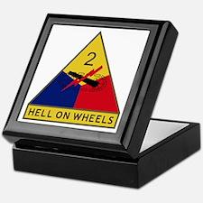 Hell On Wheels Keepsake Box