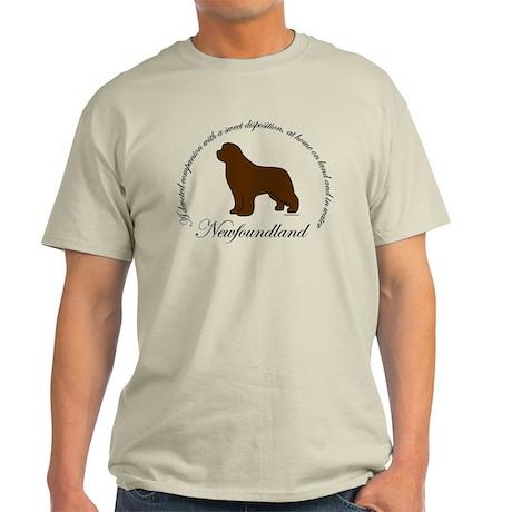 Devoted Brown Newf Light T-Shirt
