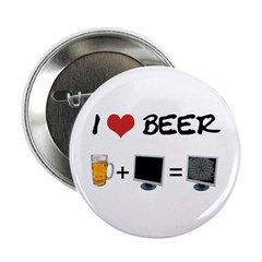 Beer + Computer Screen Button