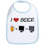 Beer + Computer Screen Bib