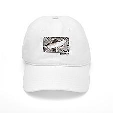 Trout in Net Baseball Cap