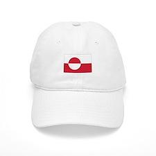 Greenland Flag Baseball Cap