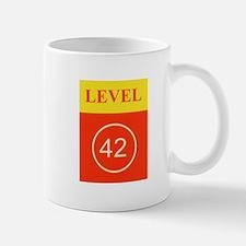 L42 vertical logo Mugs