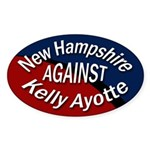 New Hampshire Against Kelly Ayotte sticker