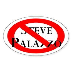 Slash Through Steve Palazzo bumper sticker