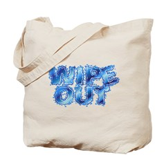 Wipeout-Splash Tote Bag