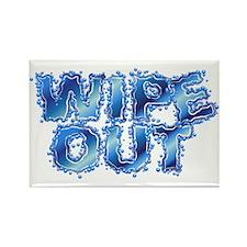 Wipeout-Splash Rectangle Magnet