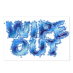 Wipeout-Splash Postcards (Package of 8)