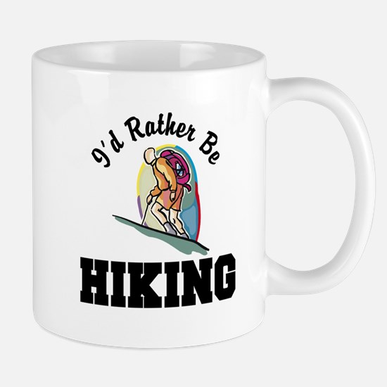 I'd Rather Be Hiking Mug