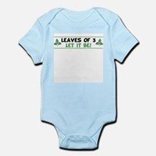Leaves of 3 Let It Be Infant Bodysuit