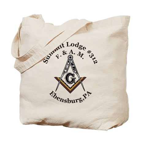 Summit Lodge #312 Tote Bag