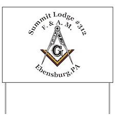 Summit Lodge #312 Yard Sign