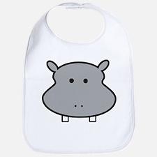Hippo Head Bib