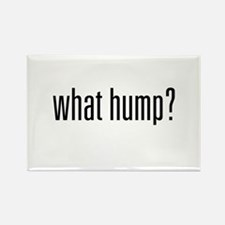 What Hump? Rectangle Magnet