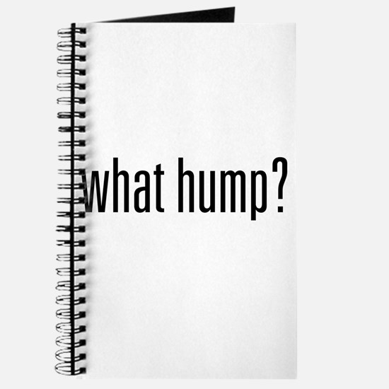 What Hump? Journal