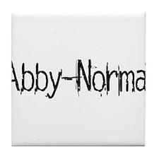 Abby Normal 2 Tile Coaster