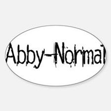 Abby Normal 2 Decal