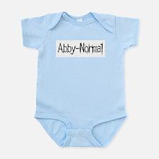 Abby Normal 2 Infant Bodysuit