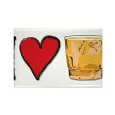 I Love Scotch Rectangle Magnet (100 pack)