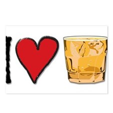 I Love Scotch Postcards (Package of 8)