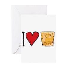 I Love Scotch Greeting Card