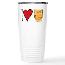 I Love Scotch Travel Coffee Mug