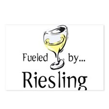 Fueled by Riesling Postcards (Package of 8)