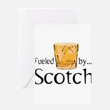 Fueled by Scotch Greeting Card