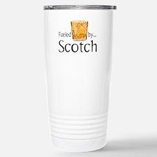 Fueled by Scotch Travel Mug