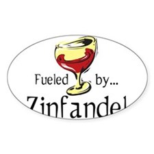 Fueled by Zinfandel Decal