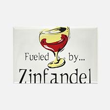 Fueled by Zinfandel Rectangle Magnet (100 pack)