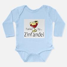 Fueled by Zinfandel Long Sleeve Infant Bodysuit