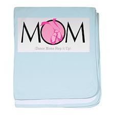 Dance Mom baby blanket