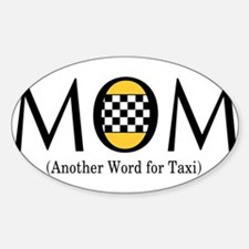 Taxi Mom Decal