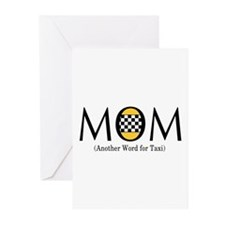 Taxi Mom Greeting Cards (Pk of 20)